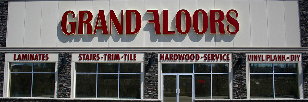 Grand Floors Storefront - Barrie Ontario Canada