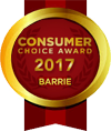 Consumer Choice Award Barrie - 2017