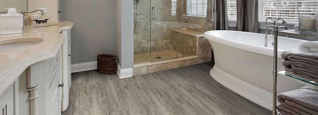 Vinyl Bathroom Flooring Barrie