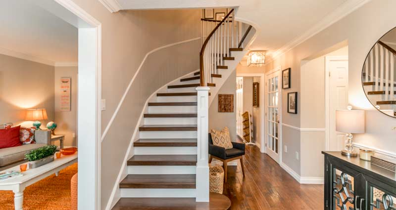 Beautiful Custom Staircase