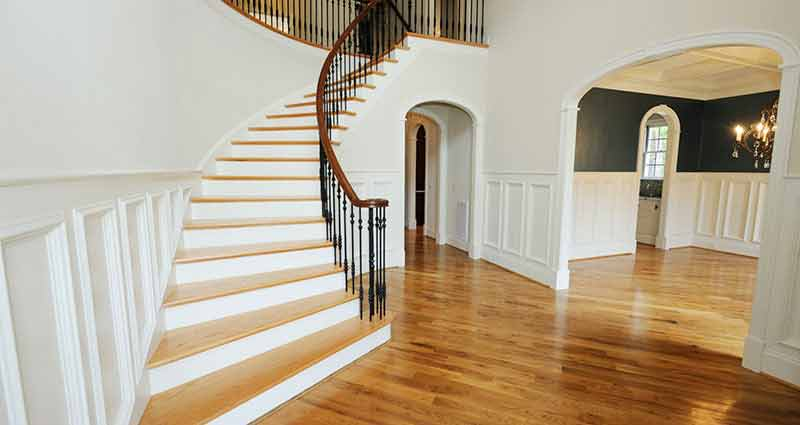 Elegant Custom Wood Stairs